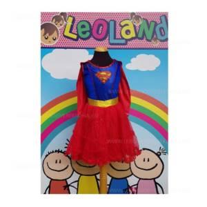 Supergirl jelmez palasttal