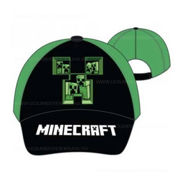 Minecraft gyerek baseball sapka